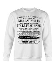tolle Frau 08 Crewneck Sweatshirt thumbnail
