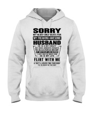 HUSBAND - NOTT Hooded Sweatshirt front
