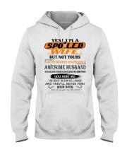 AWESOME HUSBAND Hooded Sweatshirt front