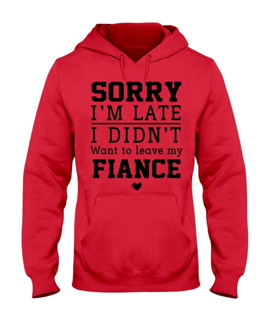 FIANCE-FIANCEE Hooded Sweatshirt