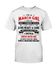 CRAZY GIRL 3 Classic T-Shirt thumbnail