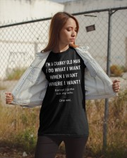 I'M A CRANKY OLD MAN Classic T-Shirt apparel-classic-tshirt-lifestyle-07