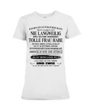 tolle Frau 09 Premium Fit Ladies Tee thumbnail