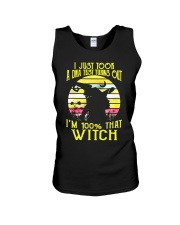 WITCH Unisex Tank thumbnail