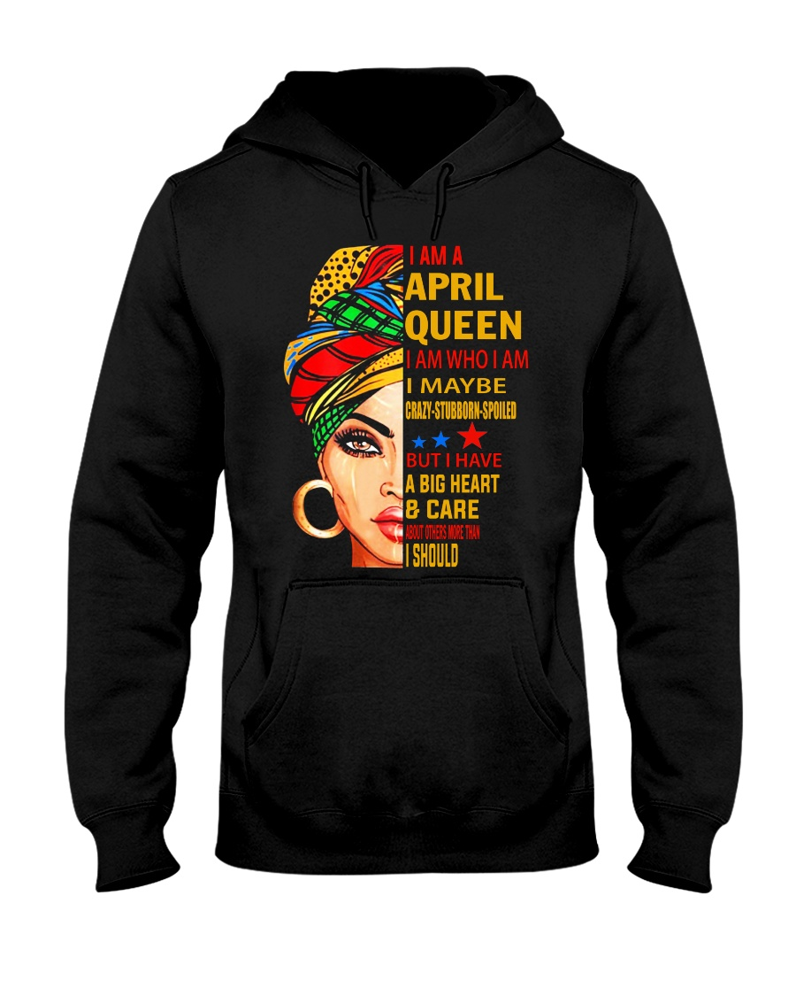 QUEEN-APRIL Hooded Sweatshirt