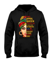 QUEEN-APRIL Hooded Sweatshirt front