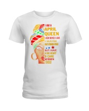 QUEEN-APRIL Ladies T-Shirt thumbnail