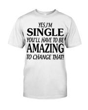 I AM SINGLE-PCC Classic T-Shirt thumbnail