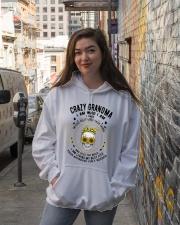 CRAZY GRANDMA - TATTOOS Hooded Sweatshirt lifestyle-unisex-hoodie-front-1