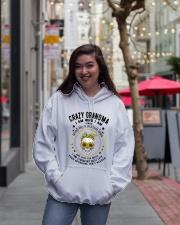 CRAZY GRANDMA - TATTOOS Hooded Sweatshirt lifestyle-unisex-hoodie-front-2
