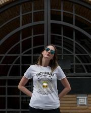 CRAZY GRANDMA - TATTOOS Ladies T-Shirt lifestyle-women-crewneck-front-1