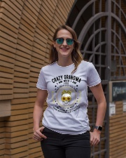 CRAZY GRANDMA - TATTOOS Ladies T-Shirt lifestyle-women-crewneck-front-2