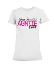 BEST AUNTIE Premium Fit Ladies Tee thumbnail