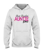 BEST AUNTIE Hooded Sweatshirt front