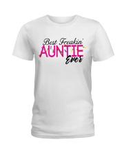 BEST AUNTIE Ladies T-Shirt thumbnail