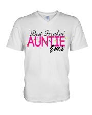 BEST AUNTIE V-Neck T-Shirt thumbnail
