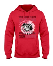 Limited Edition Prints - Pink For My Wife Hooded Sweatshirt front