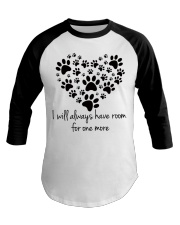 Limited version - love dogs Baseball Tee tile
