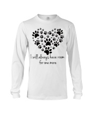 Limited version - love dogs Long Sleeve Tee front