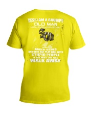 Limited version - old man V-Neck T-Shirt thumbnail