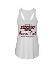 IT'S MY HUSBAND'S FAULT-PCC Ladies Flowy Tank thumbnail