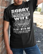 MY FREAKING AWESOME WIFE- version Classic T-Shirt apparel-classic-tshirt-lifestyle-27