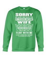 MY FREAKING AWESOME WIFE- version Crewneck Sweatshirt thumbnail