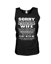 MY FREAKING AWESOME WIFE- version Unisex Tank thumbnail