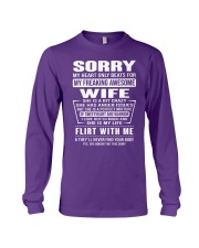 MY FREAKING AWESOME WIFE- version Long Sleeve Tee thumbnail