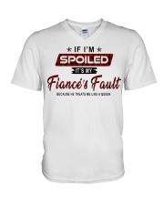 IT'S MY FIANCE'S FAULT-PCC V-Neck T-Shirt thumbnail