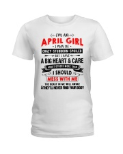 CRAZY GIRL 4 Ladies T-Shirt tile