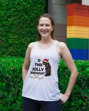 CATS IS THIS JOLLY ENOUGH Ladies Flowy Tank lifestyle-bellaflowy-tank-front-2