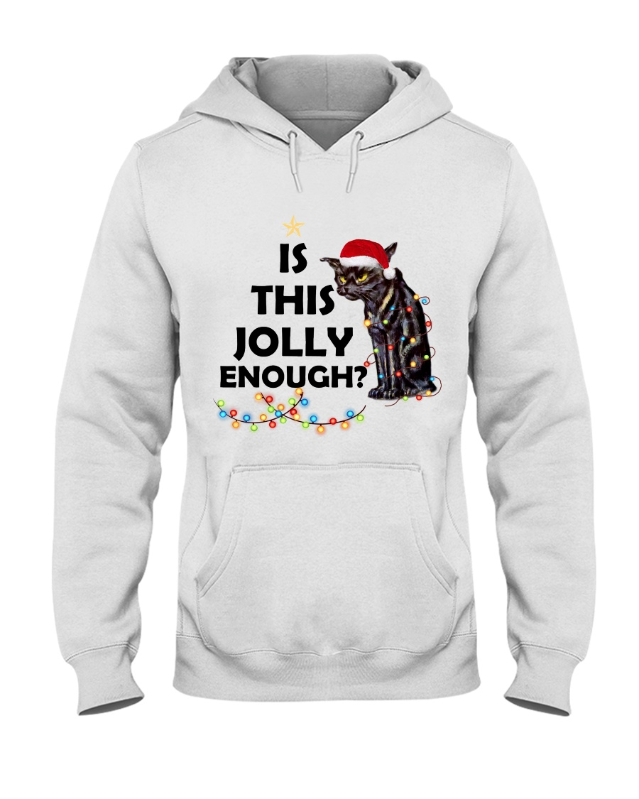 CATS IS THIS JOLLY ENOUGH Hooded Sweatshirt