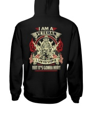 BOOM - I AM VETERAN Hooded Sweatshirt thumbnail