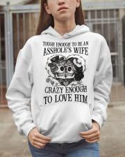 TO LOVE HIM - version Hooded Sweatshirt apparel-hooded-sweatshirt-lifestyle-07