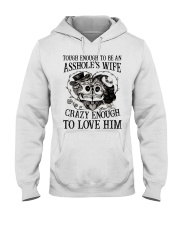 TO LOVE HIM - version Hooded Sweatshirt front