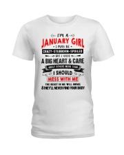 CRAZY GIRL 1 Ladies T-Shirt thumbnail