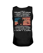 Limited Edition Prints - Veteran - United States Unisex Tank back