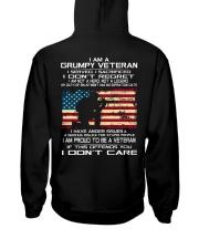 Limited Edition Prints - Veteran - United States Hooded Sweatshirt back