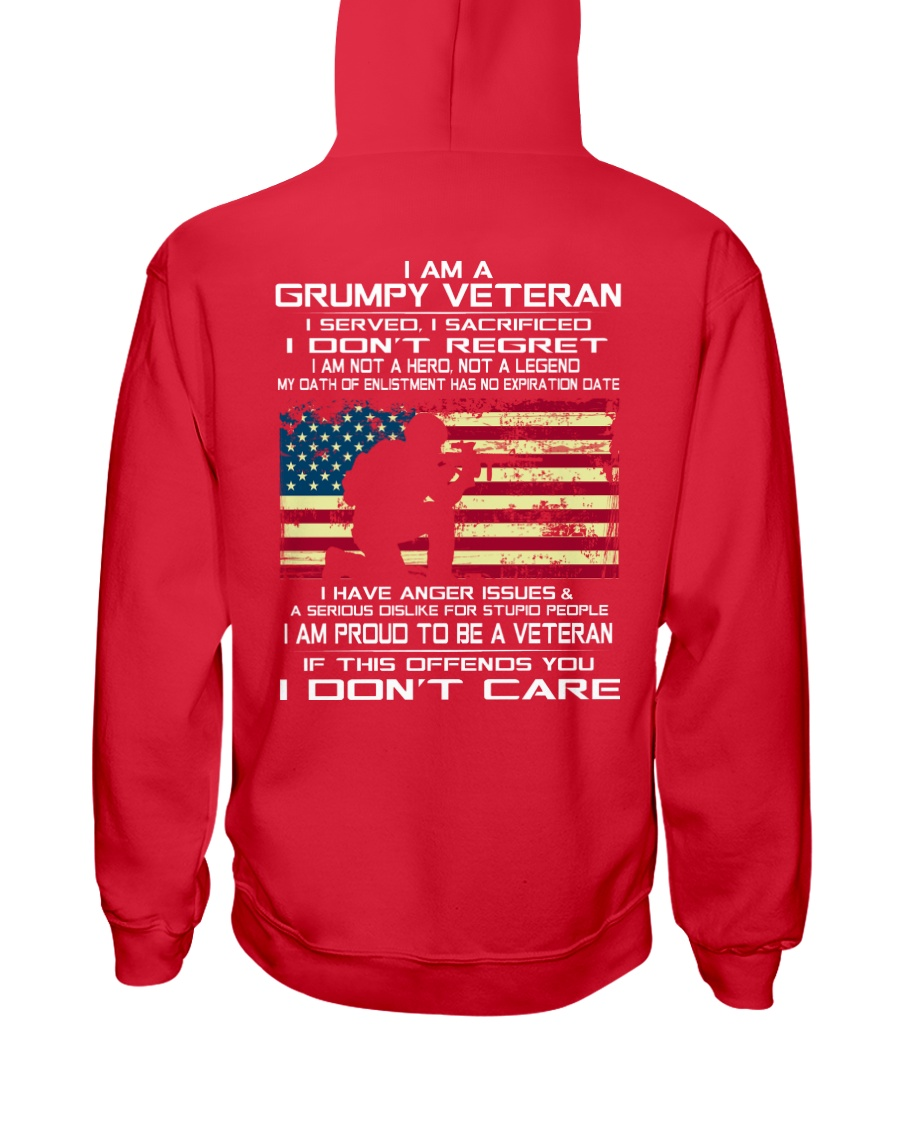 Limited Edition Prints - Veteran - United States Hooded Sweatshirt
