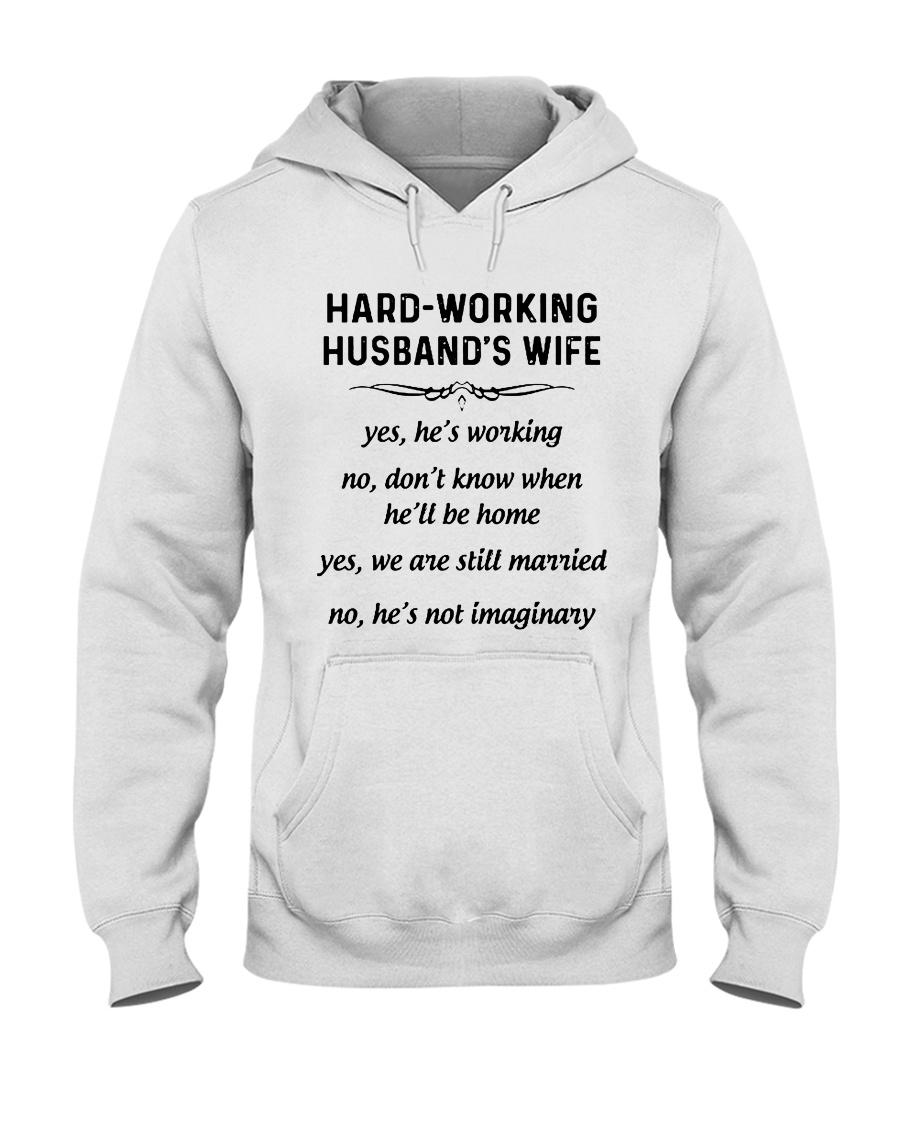 HARD WORKING version Hooded Sweatshirt