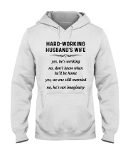 HARD WORKING version Hooded Sweatshirt front