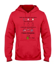 Limited Version Prints  Hooded Sweatshirt front