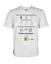 Limited Version Prints  V-Neck T-Shirt thumbnail