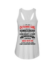 CRAZY GIRL 10 Ladies Flowy Tank thumbnail