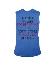 I MARRIED MY WIFE Sleeveless Tee thumbnail