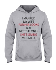 I MARRIED MY WIFE Hooded Sweatshirt thumbnail