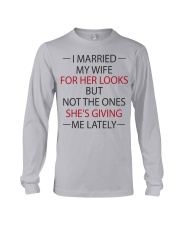I MARRIED MY WIFE Long Sleeve Tee thumbnail