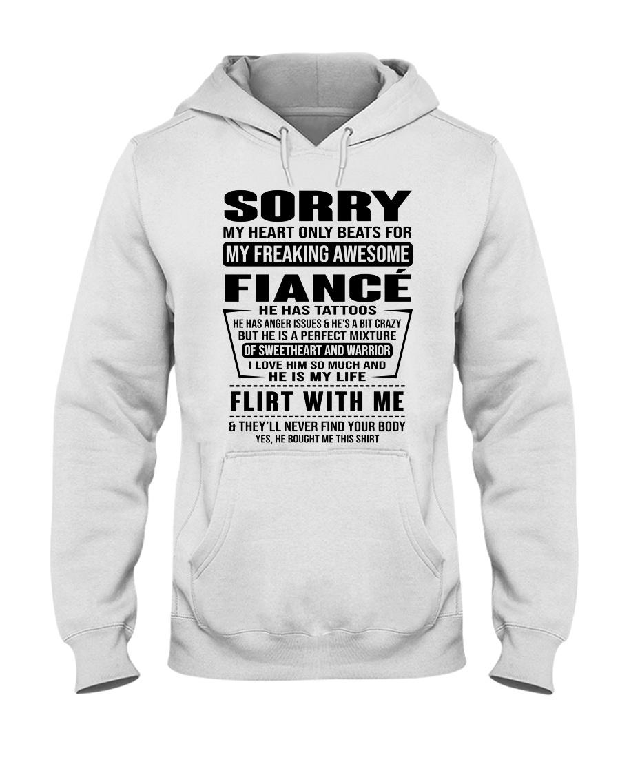 FIANCE - TT Hooded Sweatshirt