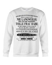 tolle Frau 04 Crewneck Sweatshirt thumbnail